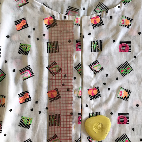 button front dress and tunic pattern