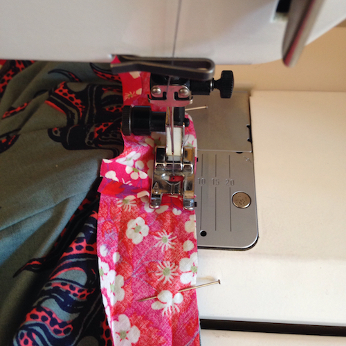 sewing a v-neck