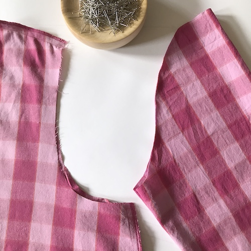 sewing on dress sleeves